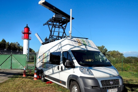 3 Bird Radar System - Ornithological research in Odra valley